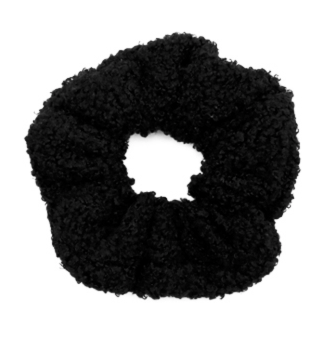 Paintwoodz Teddy Black Scrunchie